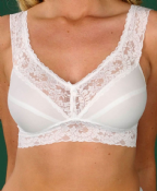Silhouette Lingerie No Wire 'Classic' Soft Cup Sleep Bra ( 400IE )